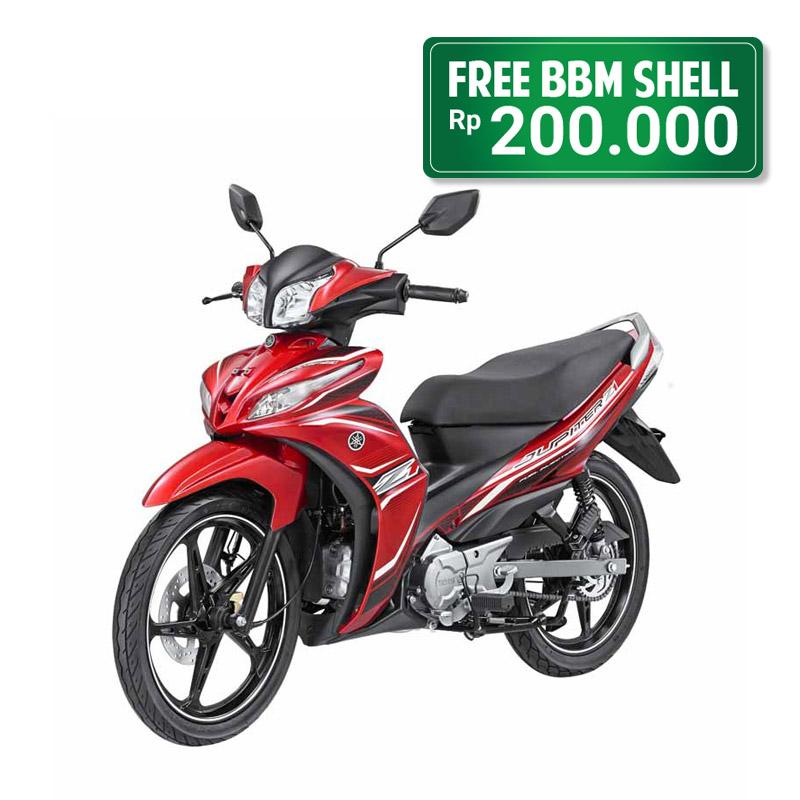 Yamaha Motor Jupiter Z1 Red Jadetabek