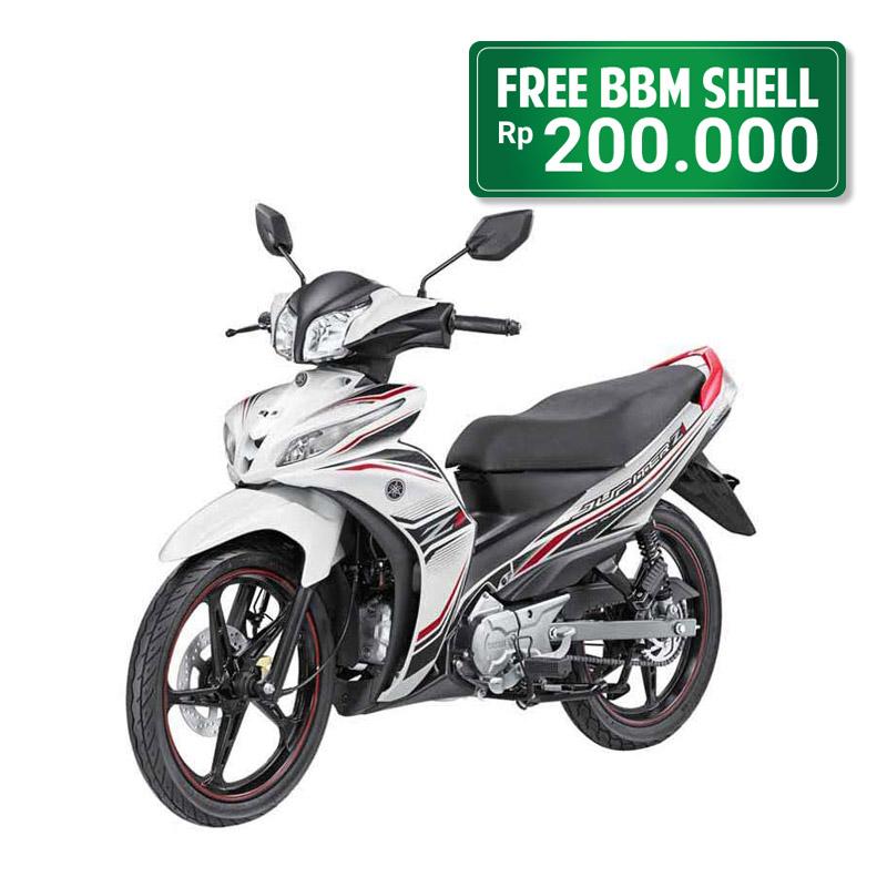 Yamaha Motor Jupiter Z1 Sporty White Jadetabek
